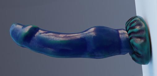 Blue dildo (rigged)