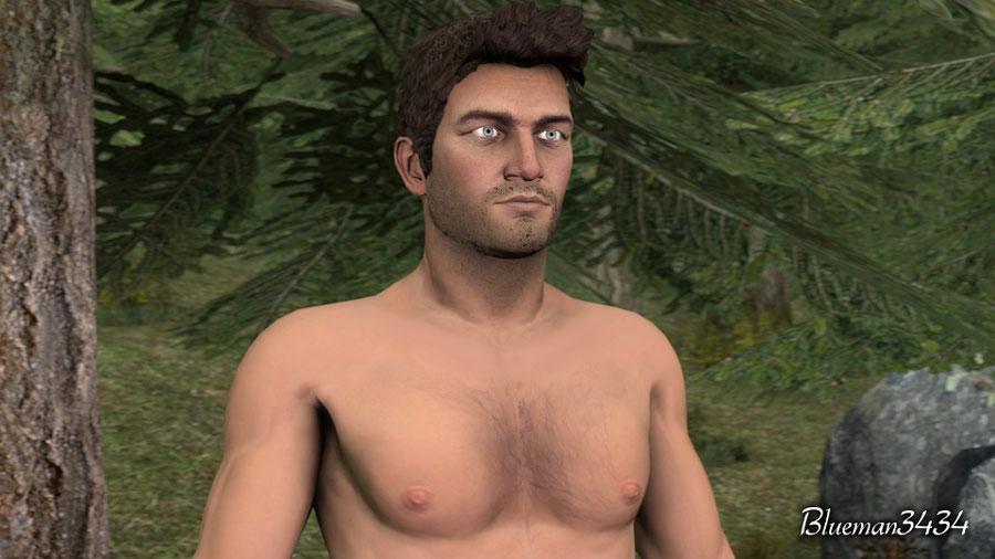 Nathan Drake - Nude