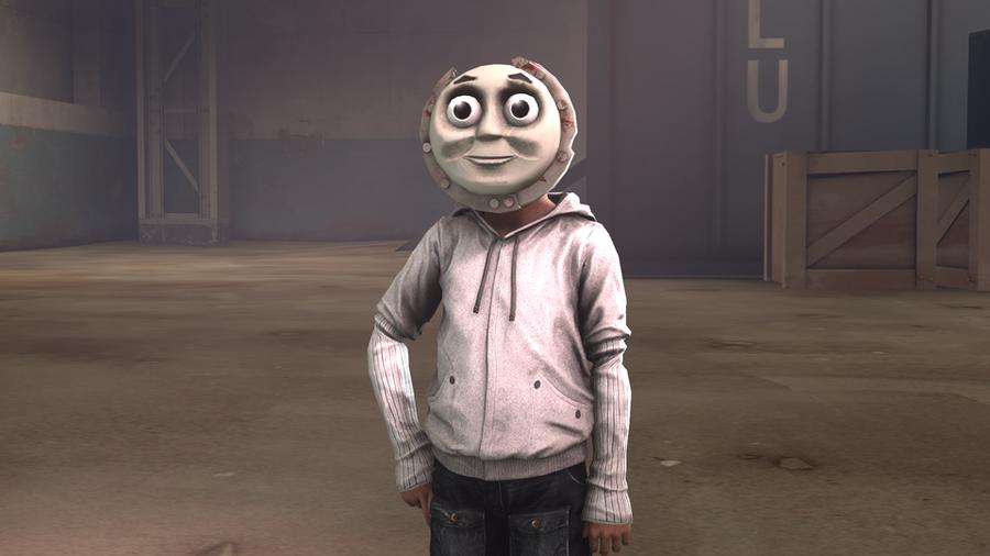 Thomas the Tank Engine Mask/Shield