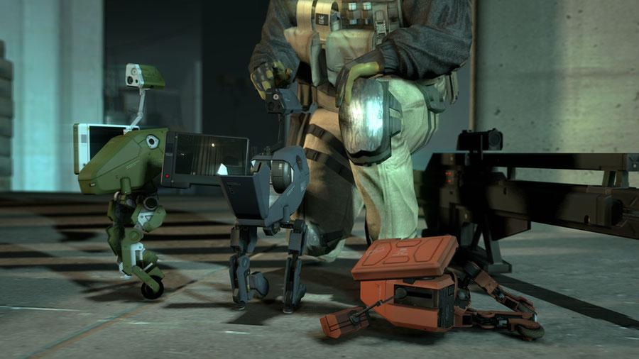 Metal Gear MKII - Metal Gear Solid 4