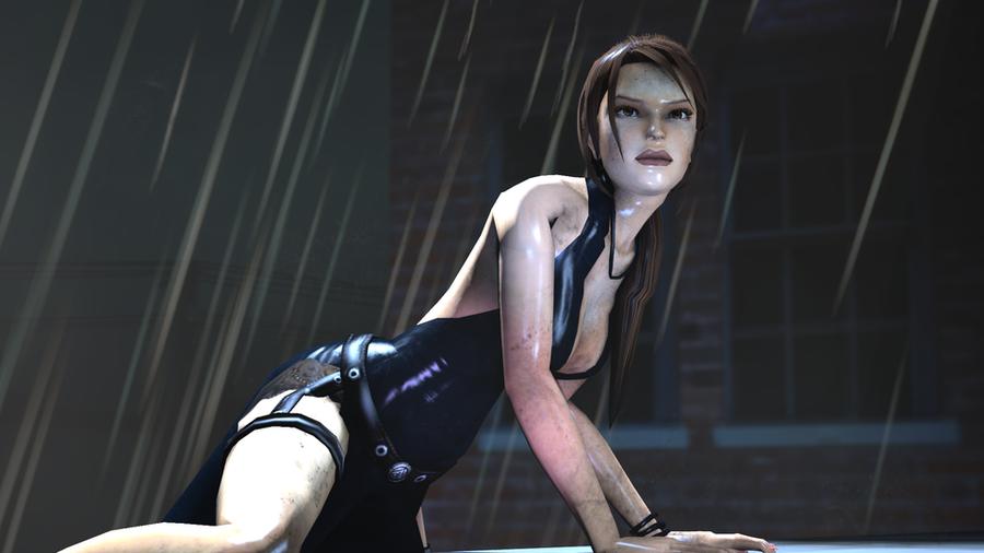 Lara Croft - Ripped Dress (Tomb Raider : Legend)