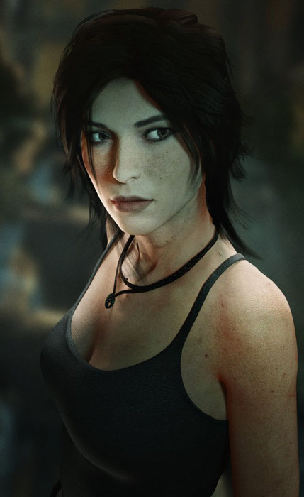 Lara Croft Voice Files from TR(2013)
