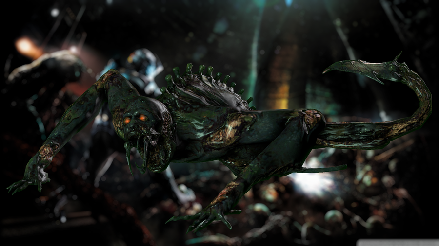 Dead Space - Leaper