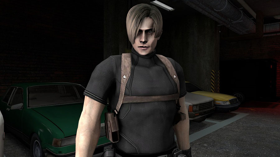 Leon Kennedy RE4 No Jacket