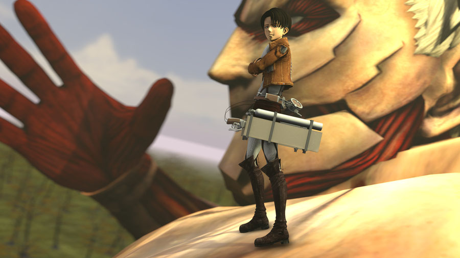 Levi Ackerman (Attack On Titan) READ DESCRIPTION