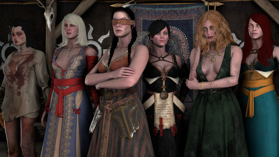 The Witcher 3: Lodge of Sorceresses