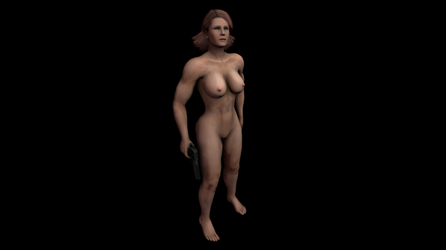 Meryl Nude MGS4