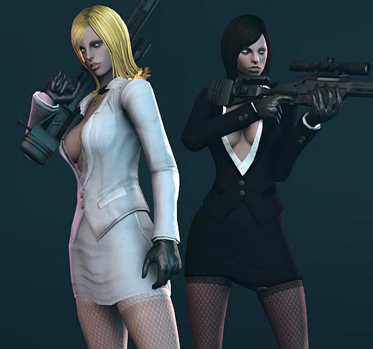 TERA online human Mafia outfit