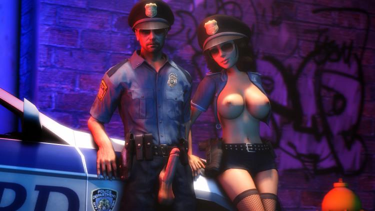 Generic Male Cop