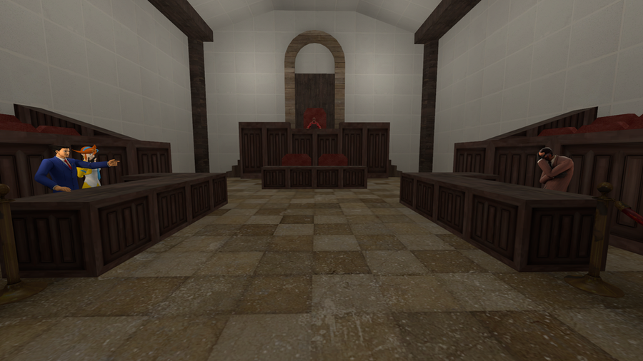 [MAP] Courtroom