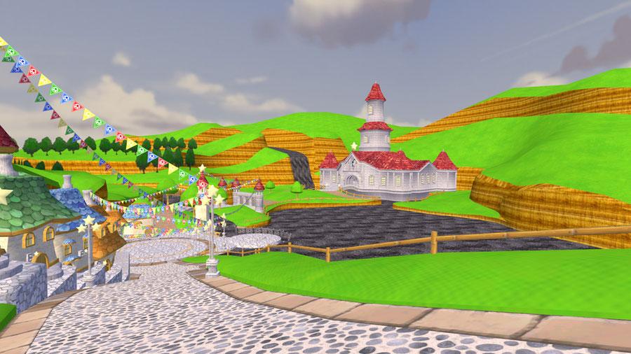 Super Mario Galaxy - Peach's Castle