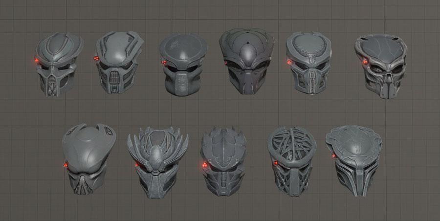 Predator Weapons & Masks