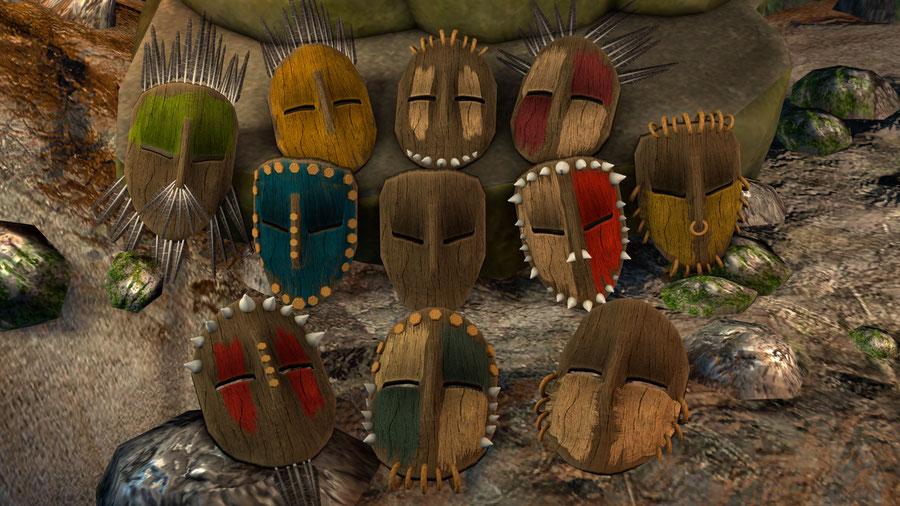 Customizable Tribal/Cult Mask