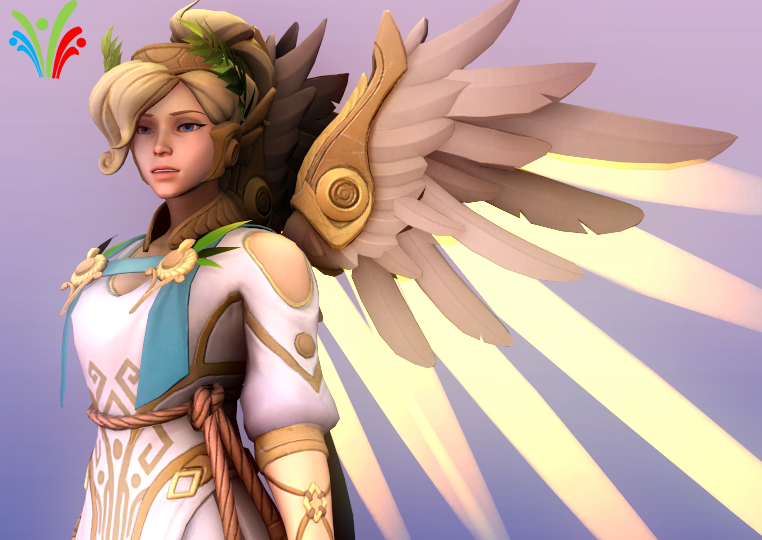 Mercy Victory Skin [Overwatch]