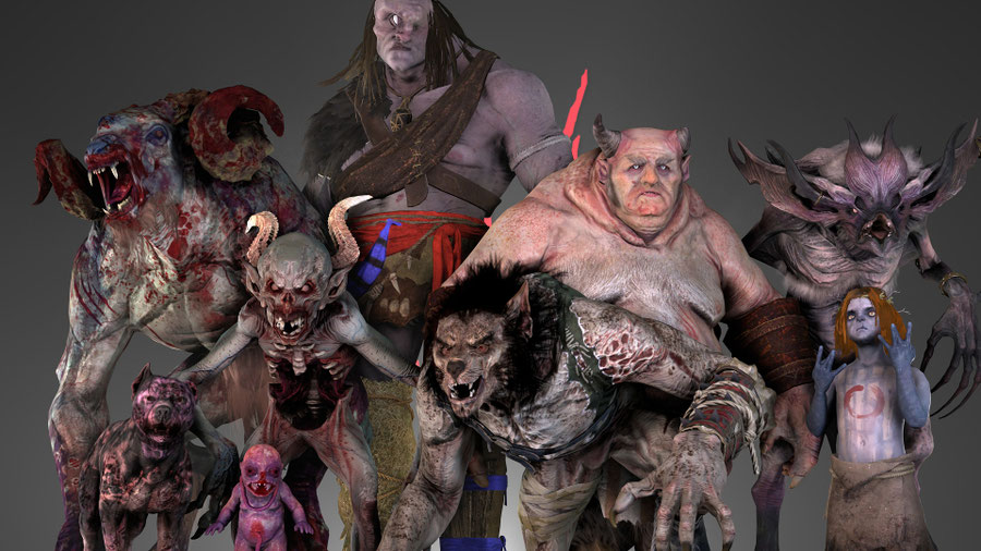 The Witcher 3: Wild Hunt Monster Pack 2