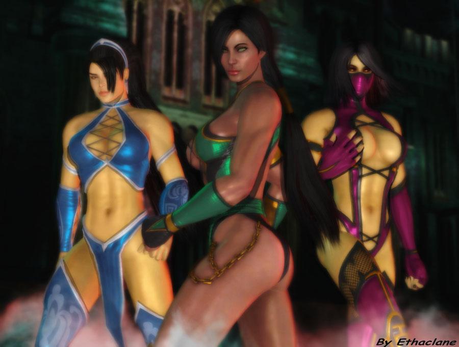 MK9 Jade, Kitana, Mileena Voice Files