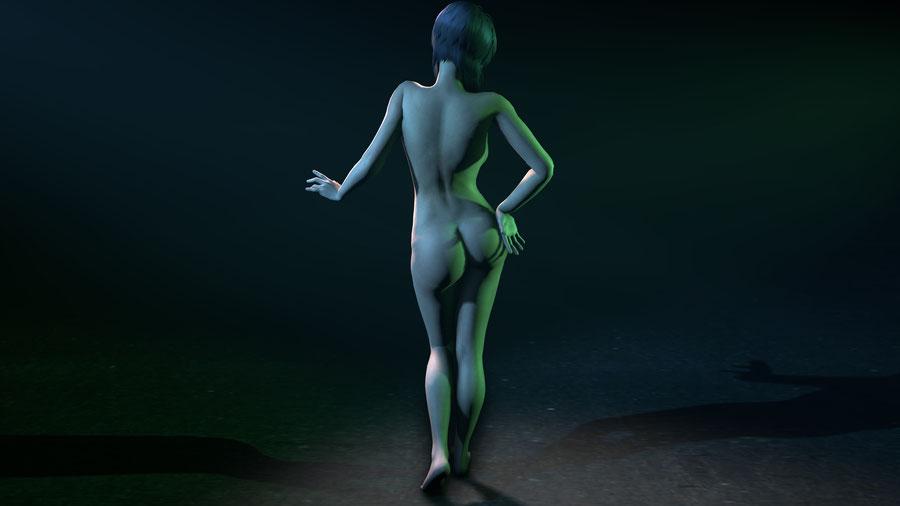 Motoko Kusanagi *NUDE* (Ghost in the Shell)