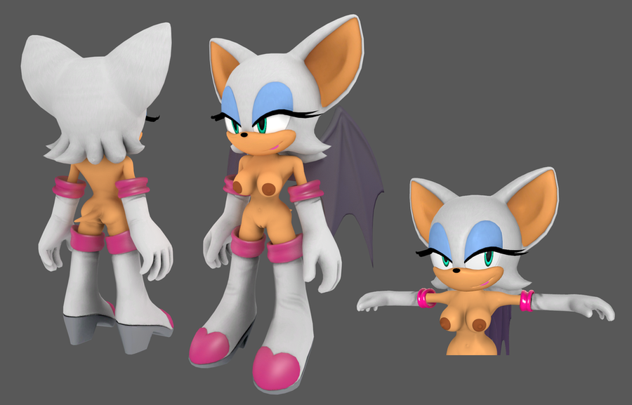 Nude Rouge the Bat