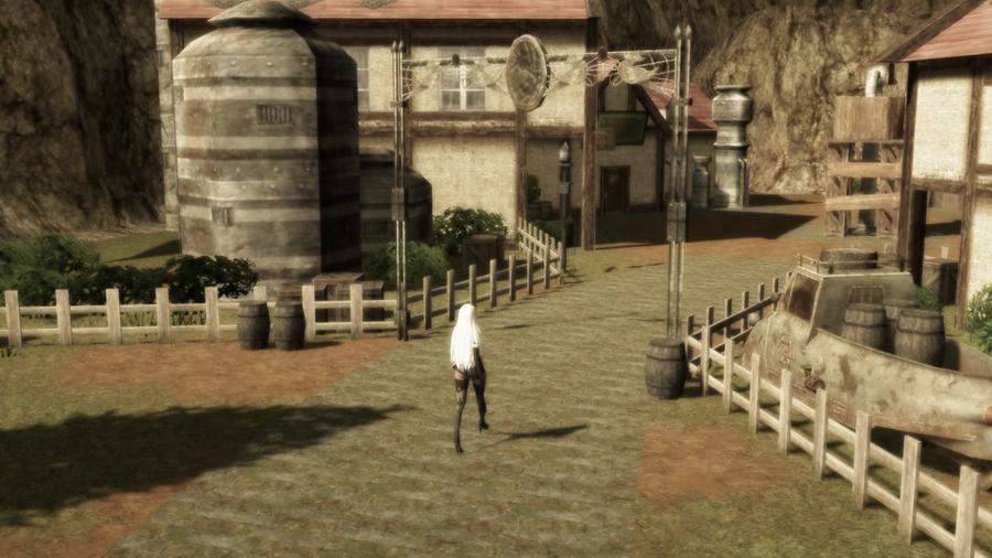 Nibelheim - Final Fantasy 7 Crisis Core