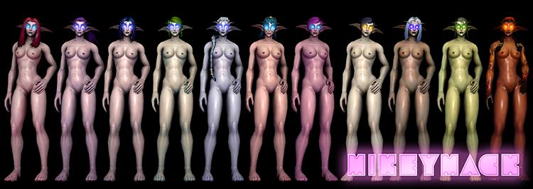 World of Warcraft - Female Night Elf