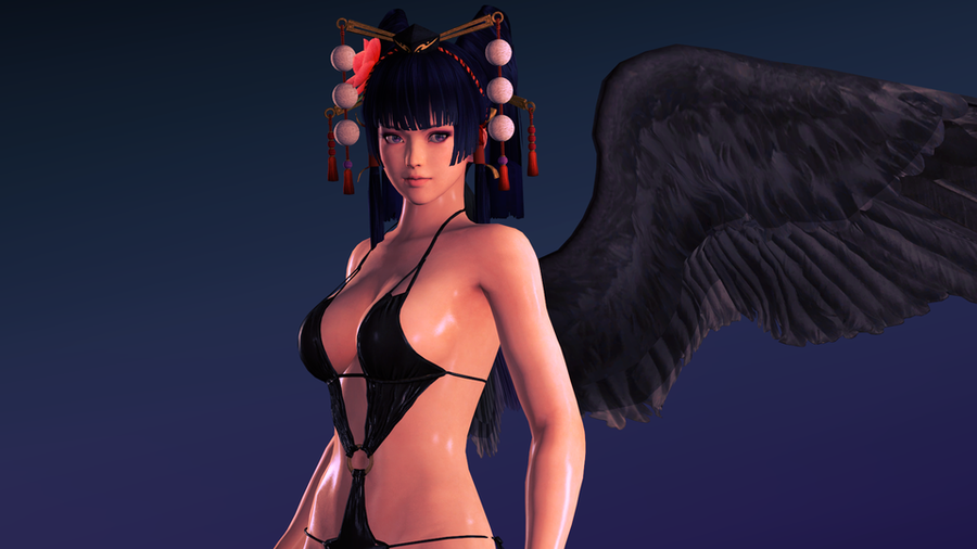 DoA5 - Nyotengu - Bikini outfit