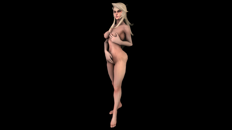 Olga Azura Wrath Nude