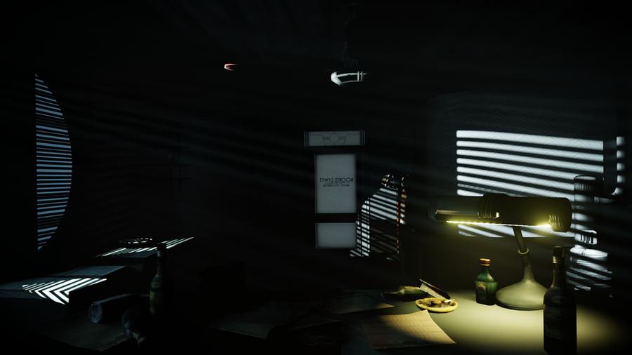 Bioshock: Infinite  Burial at Sea (DLC)  - Booker's office