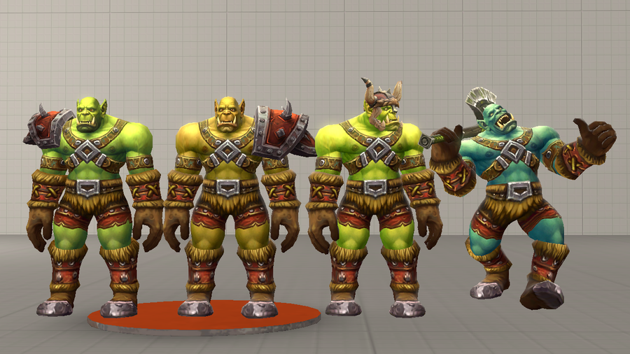 Generic Orc Grunts (WoW)