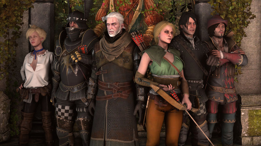 The Witcher 3: Character Pack 4