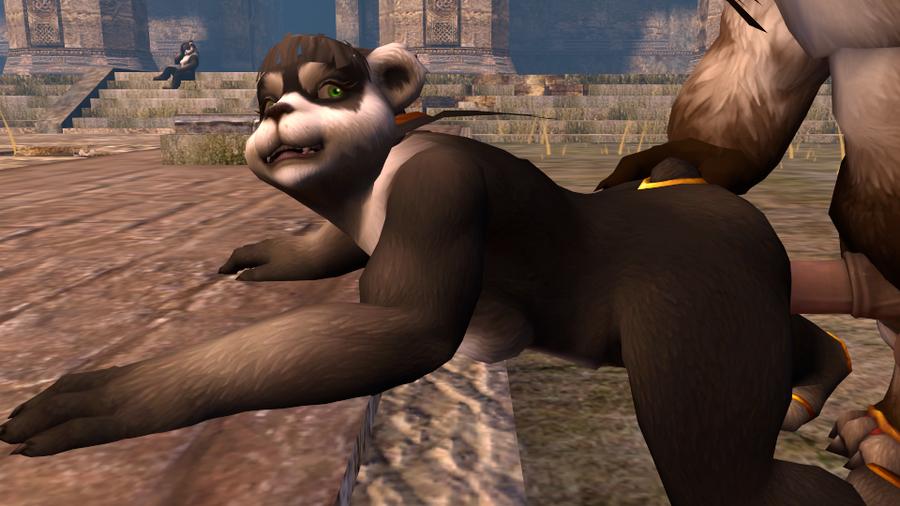 World of Warcraft -- Pandaren Red