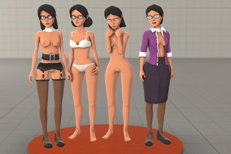 Anonymous' Miss Pauling Nude