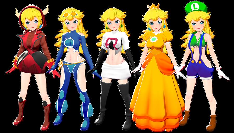 Princess Peach - Anime version