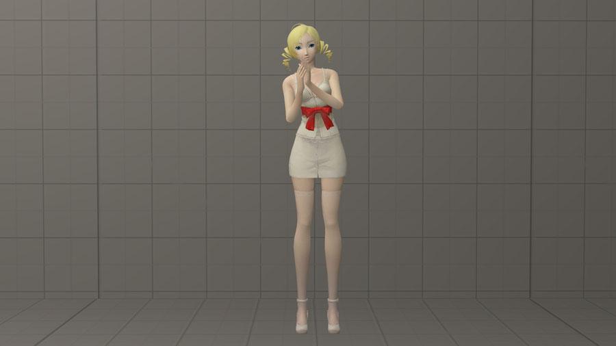 Catherine (with basic IK rig)