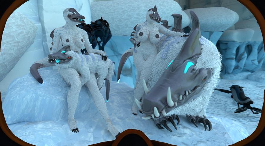 Snow stalker (subnautica below zero)