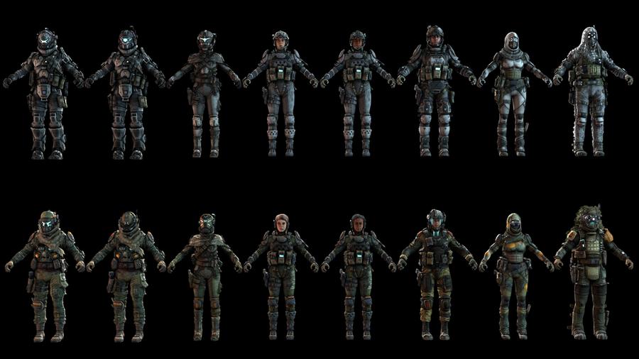 Titanfall Pilots