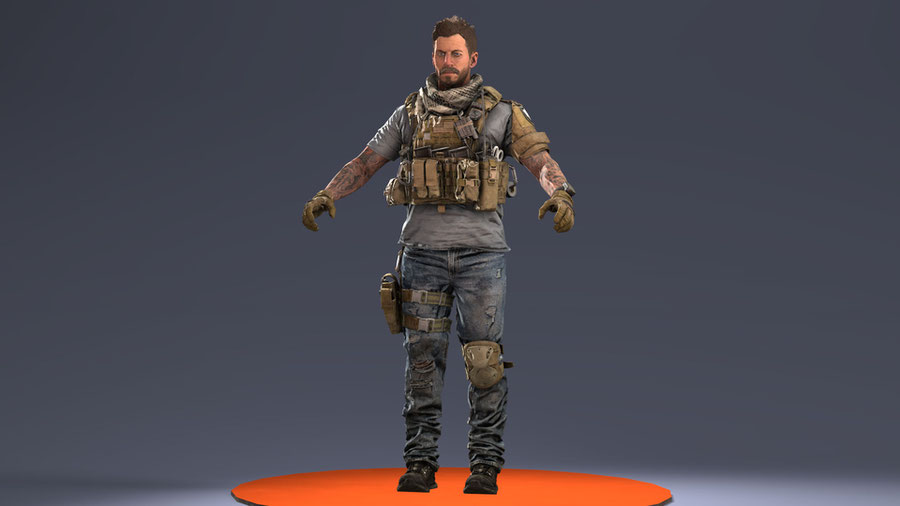 [ Call of Duty: Modern Warfare 2019 ] Alex (Desert)