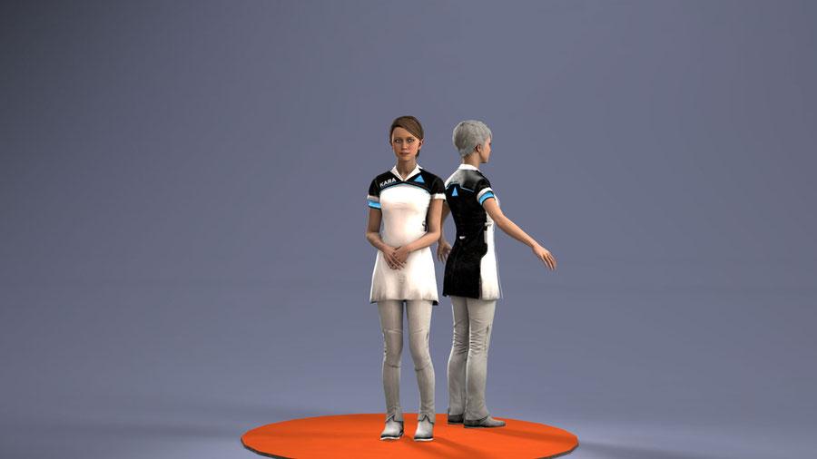 [Detroit: Become Human] - Kara Uniform