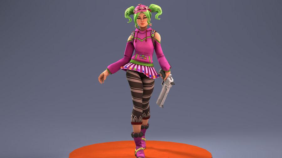 [Fortnite] Battle Royale: Zoey (Candy Girl)