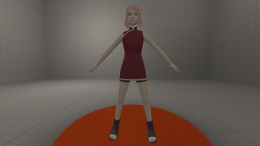 Naruto: Sakura Haruno (Adult)