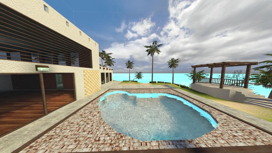Beach House Island - Scenery Map (ported)