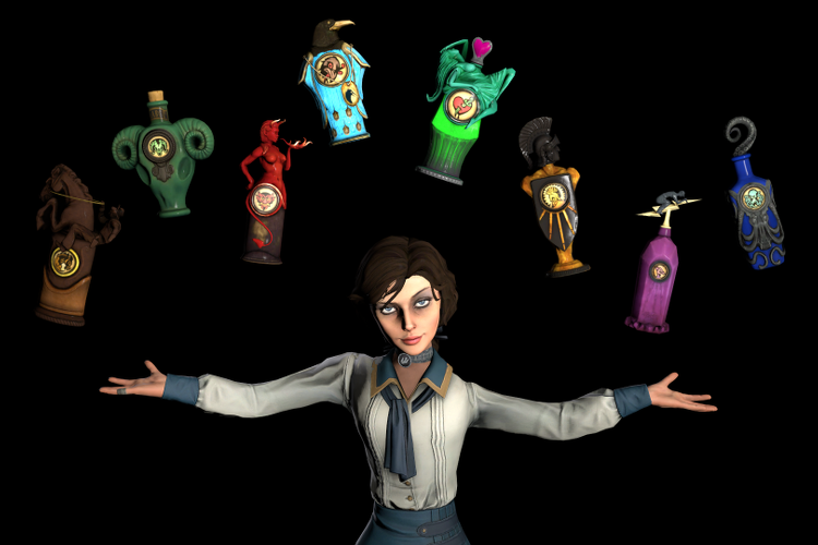 BioShock Infinite Vigors