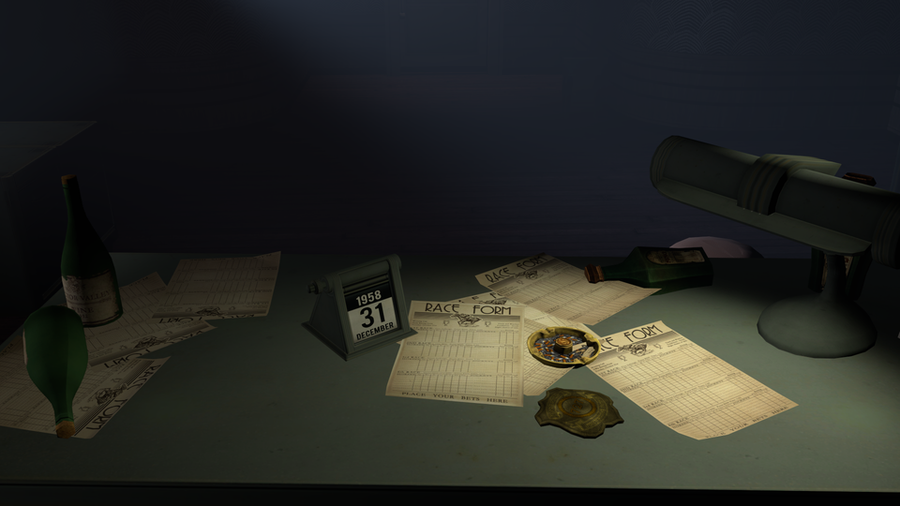 Bioshock Infinite : DLC BAS - Booker's Office