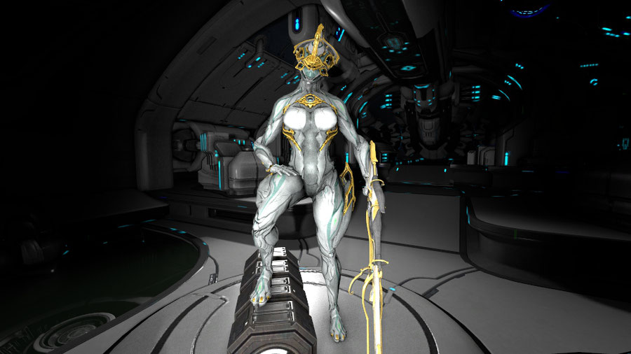 NyxPrime with additionnal controls (Warframe)