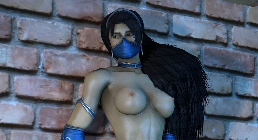 MK9 - (Partially) Nude Kitana