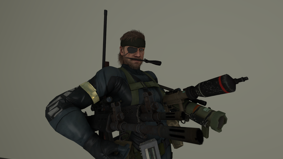 Metal Gear Solid V: Ground Zeroes. Weapon.