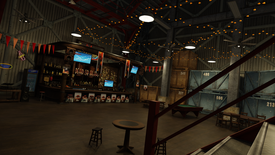 Bar scene - Dead or Alive 5