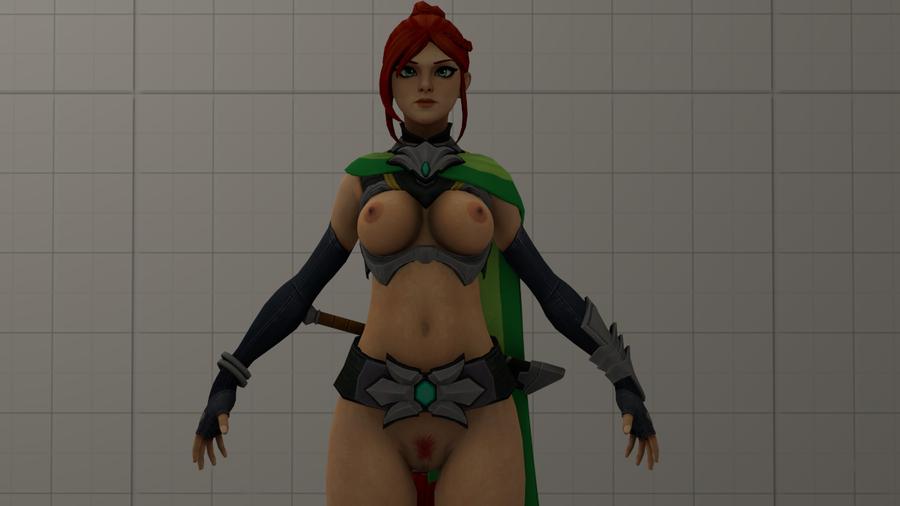 Paladins Nude Models