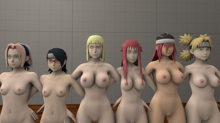 Naruto Nude Model Pack