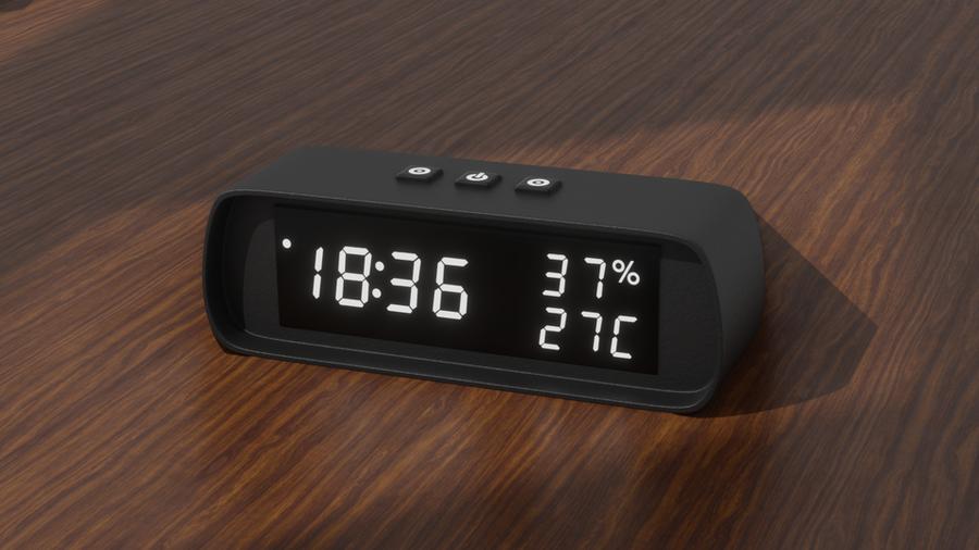 Simple Desk Clock