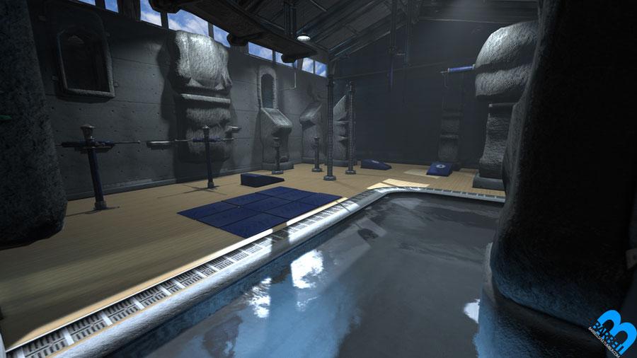 Barbell – Lara's Gym Prop Pack V1
